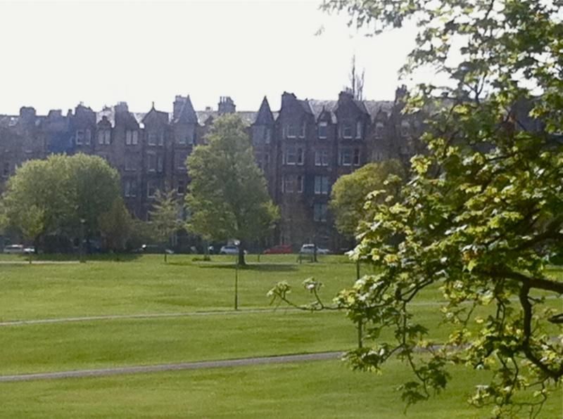 View from the apartmen - Victorian apartment  ins the centre. Great views - Edinburgh - rentals