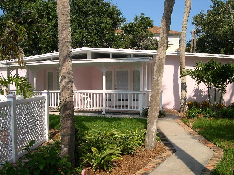 Front of Cottage F - Key West Style Cottage on Vero's Barrier Island - Vero Beach - rentals