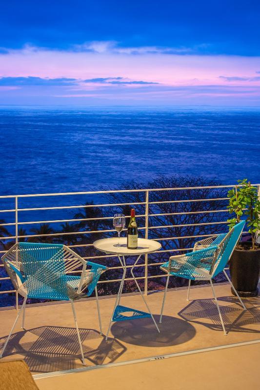 View from front terrace - 150 ft to beach, 5 min to nightlife /restaurants - Puerto Vallarta - rentals