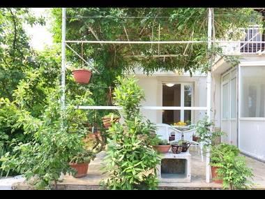 A1(2+2) rozi: terrace - 8082  A1(2+2) rozi - Supetar - Supetar - rentals