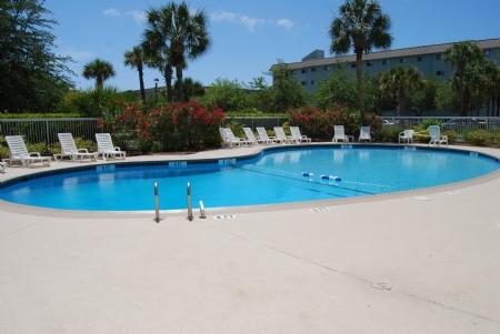 Pool - Renovated 2 Bedroom, Indoor/Outdoor Pools, FREE Tennis Onsite - Hilton Head - rentals