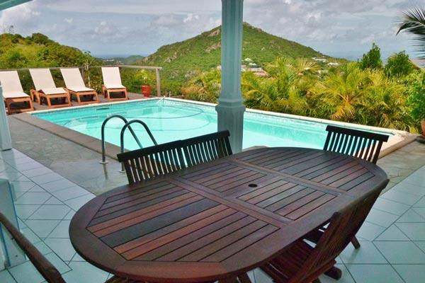 Hillside villa with privacy, tranquility & all-day sun exposure	 WV AIA - Image 1 - Vitet - rentals