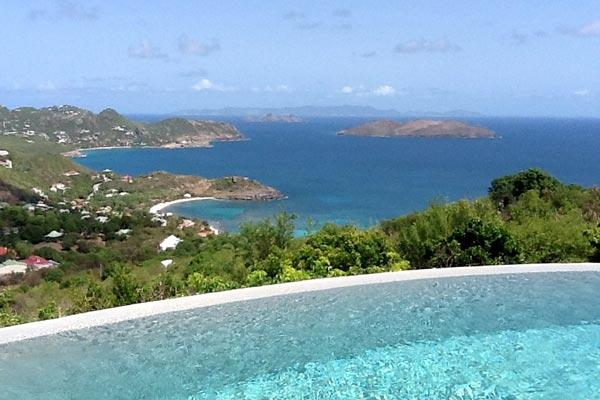 Located on the highest point in Petite Saline. WV AXS - Image 1 - Saint Barthelemy - rentals