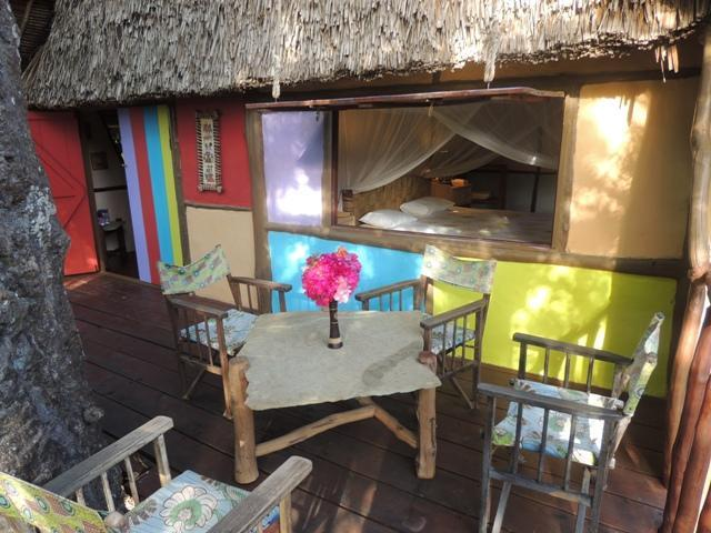 veranda - Mbuyu treehouse - Diani - rentals