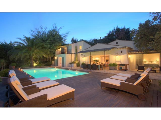 Magnificent villa in Cannes - Panoramic sea view - Image 1 - Cannes - rentals