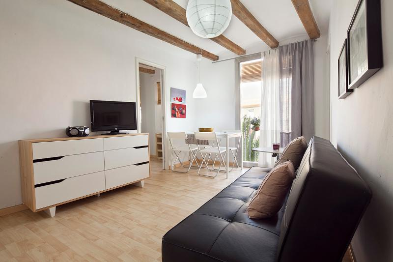 Fully equipped living room - TENDENCY BORNE - Barcelona - rentals