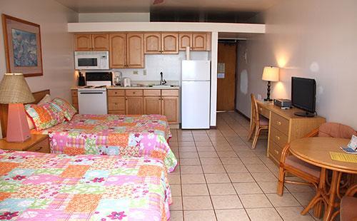 Living area from lanai - Kepuhi Beach 1182 - Maunaloa - rentals