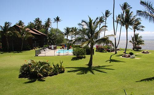 View from lanai - Molokai Shores 211 - Kaunakakai - rentals