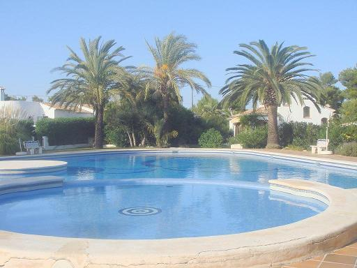 Villa 4 bed,3 bath, air cond,pool,barbacue,sat tv - Image 1 - Javea - rentals