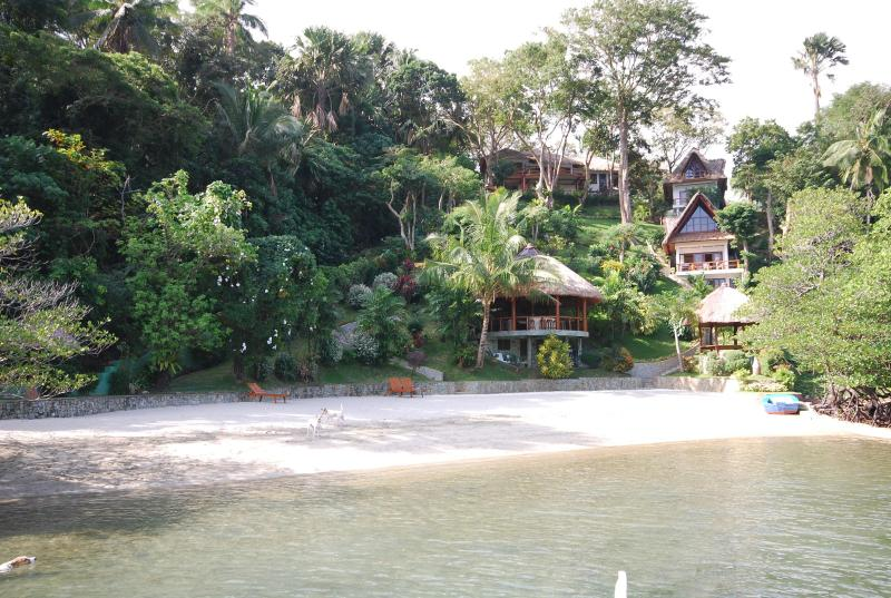 View of villa from beach - 2 Bedroom Luxury Villa and Beach In Puerto Galera - Puerto Galera - rentals
