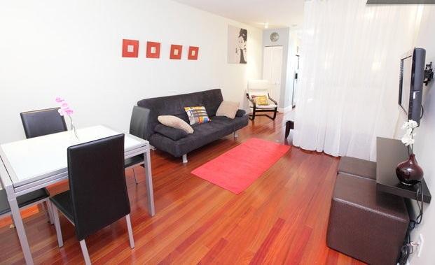 Main Area - Cozy, Large Studio Best location in SoBe . WIFI, central AC, full kitchen. - Miami Beach - rentals