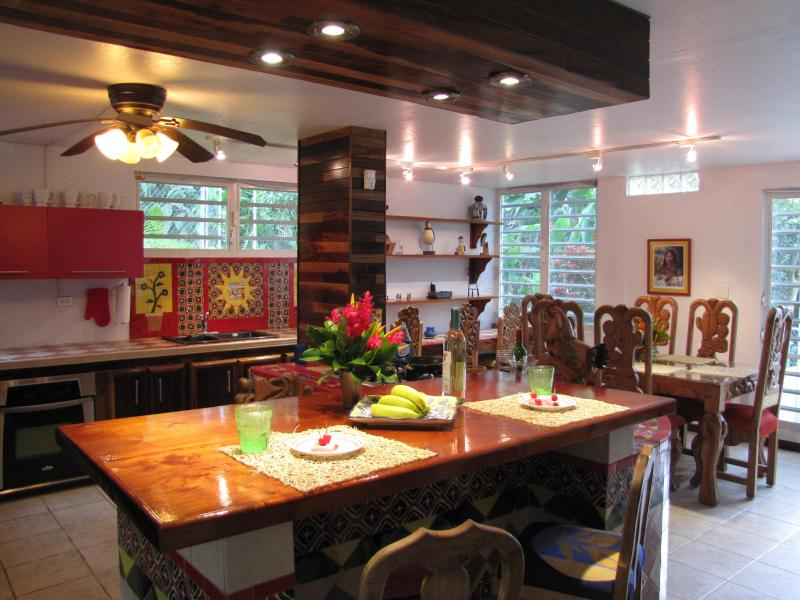 Hacienda Rustic Kitchen - Hacienda @ Estancia El Yunque - El Yunque National Forest Area - rentals