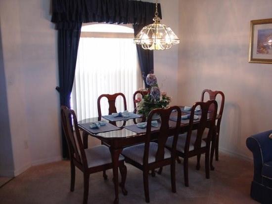 Formal Dining - OT4P3016SHC 4 Bedroom Villa in Clermont with Wonderful Spa - Orlando - rentals