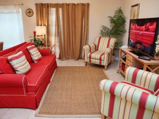 Living Area - COR4T2394CC Lavish Town Home Unit in Kissimmee - Orlando - rentals