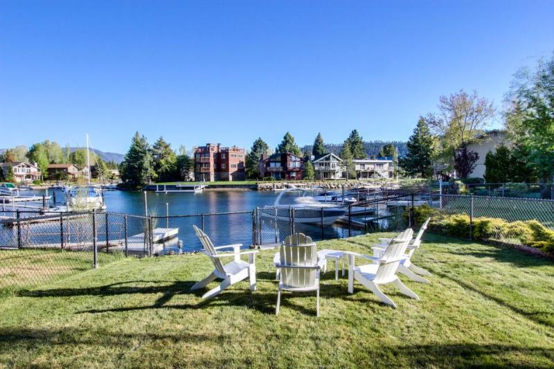 Lakefront home on the Tahoe Keys w/ resort amenities - pool, hot tub, tennis! - Image 1 - South Lake Tahoe - rentals