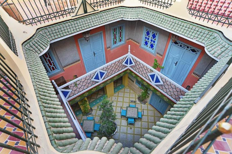 Patio - A B&B in the middle of the Medina of Marrakech - Marrakech - rentals