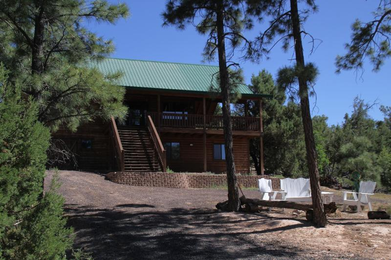 Front of the House - 2600 sq ft cabin in the white mountains near national forest - Show Low - rentals