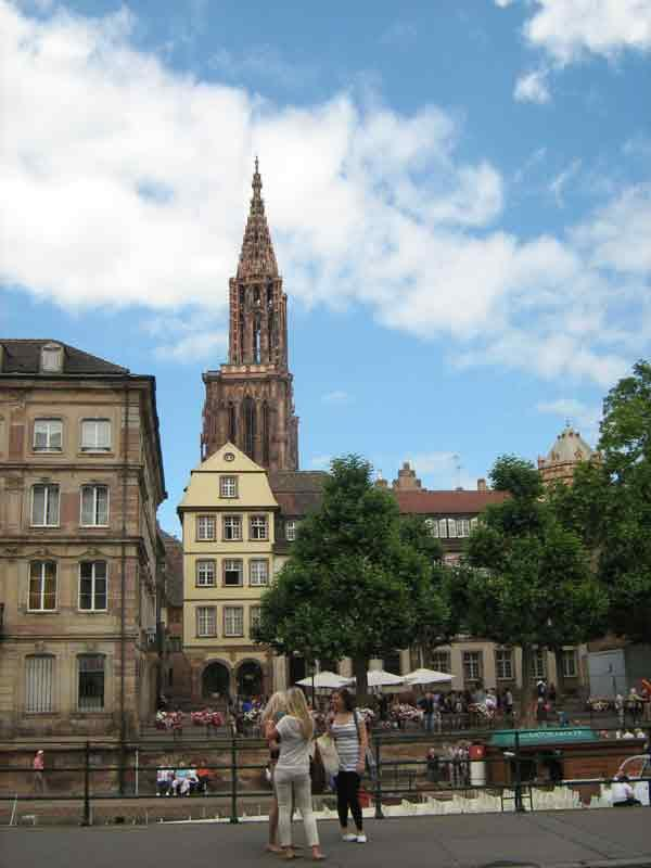 Center of Strasbourg,apartment for 1-5 persons in ground floor - Image 1 - Strasbourg - rentals