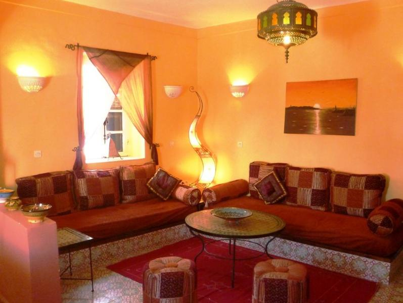 Lounge - Spacious apartment in heart of Medina. - Essaouira - rentals