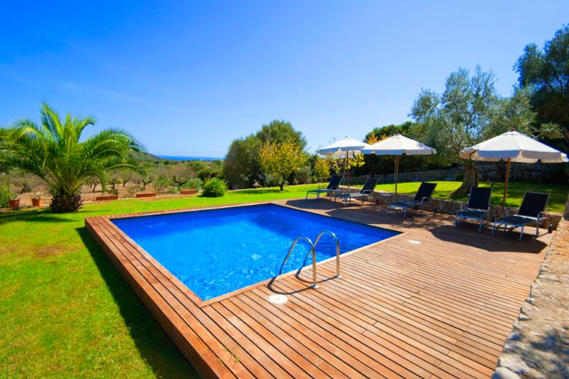 Modern Finca with pool access and wonderful views - Image 1 - Cala Ferrera - rentals
