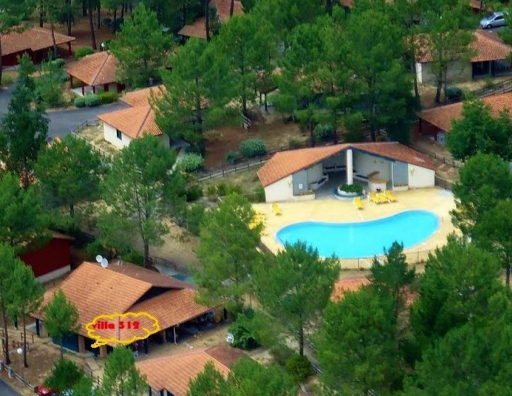 AERIAL VIEW - Agréable villa entre Golf et Océan - Moliets et Maa - rentals
