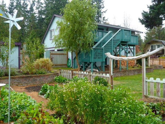 View form the garden - 2BR/1BA  -  Olympic Vacation Rentals - Port Townsend - rentals