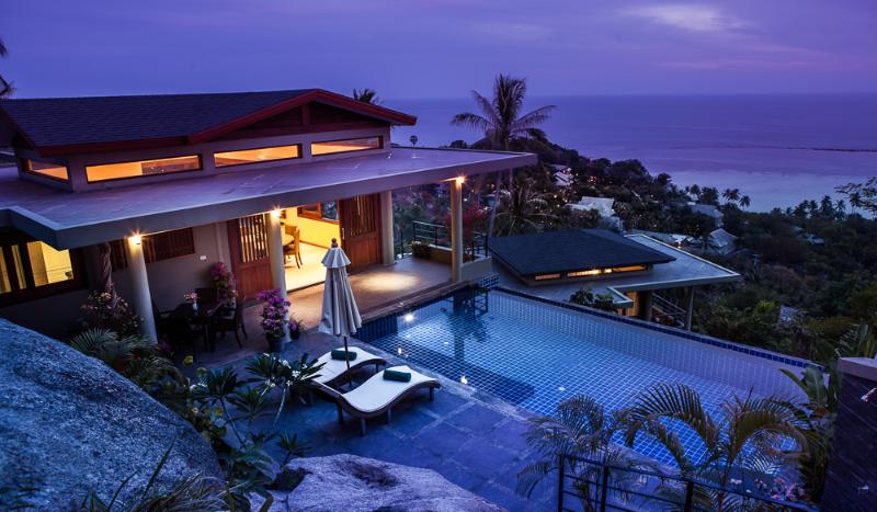 Magical and romantic times at Villa Crystal - Divine 1 Bed Villa with Panoramic Ocean Views - Koh Samui - rentals