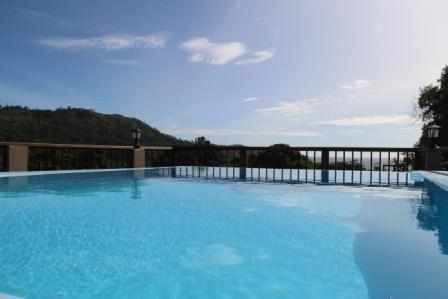 Swimming pool with panoramic view - StephNa Residence selfcatering-2 bedroom villa - Victoria - rentals