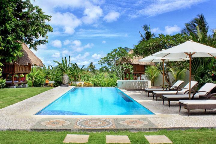 Pool& Garden - BEAUTIFUL VILLA  4 BEDROOMS iN CANGGU- STAF / SWIM - Canggu - rentals