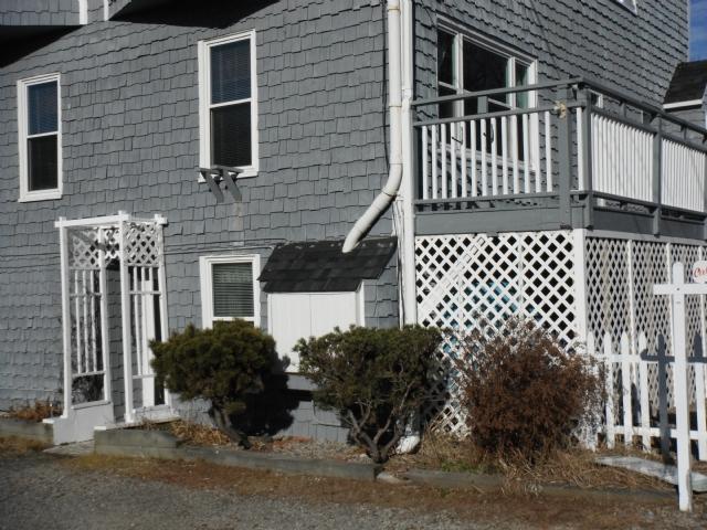 Unit #1 Entrance - Y774 - York Beach - rentals