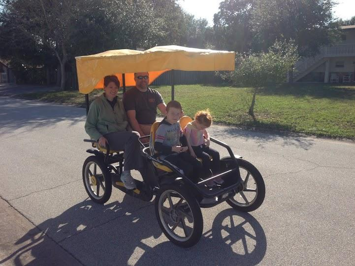 Family bike use with rental - Just Beachy Keen- Orlando's Beach Vacation Houses - Cape Canaveral - rentals