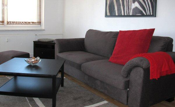 Living Room - Apartement Berlin-Treptow Köpenick 2 rooms 4 pers - Berlin - rentals