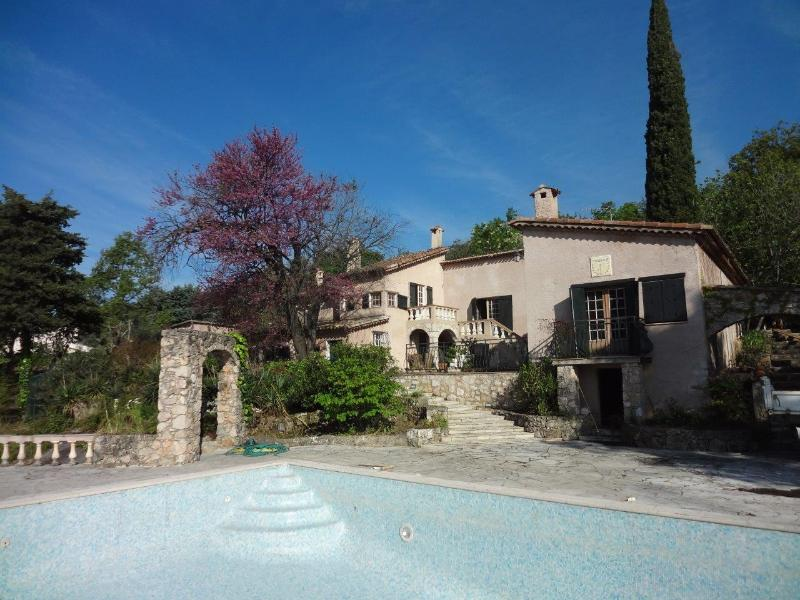 Villa Olive with pool - Authentic, stunning Provence property with seaview - Tourrettes-sur-Loup - rentals