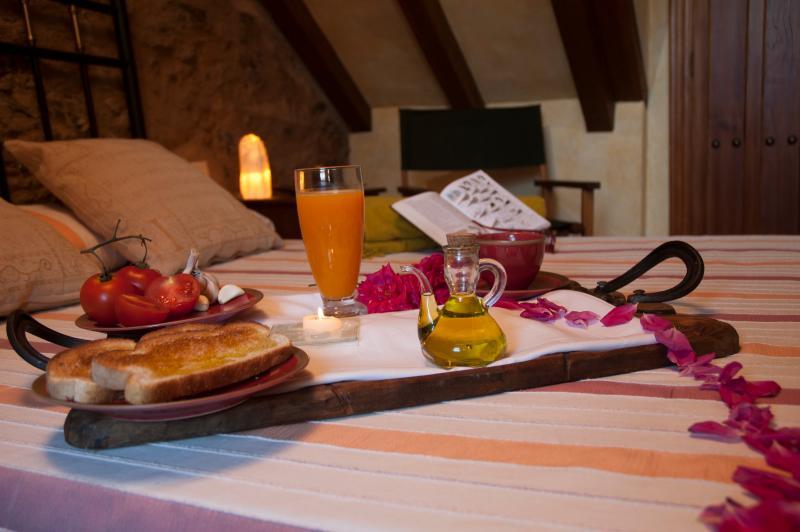 Desayuno en casa Campanario - Rural Loft for 2-4 people. Spain. Extremadura. - Province of Caceres - rentals