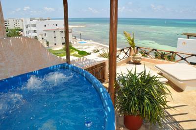 Mayan Tides Condo in Puerto Morelos,6 guests! - Image 1 - Puerto Morelos - rentals