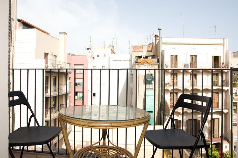 Mitte - cosy living room, plasma tv, near Ramblas - Image 1 - Barcelona - rentals