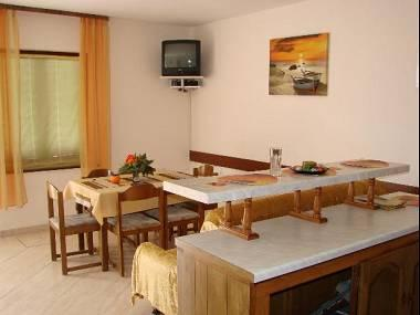 A1(6+1): kitchen and dining room - 8120  A1(6+1) - Supetarska Draga - Supetarska Draga - rentals