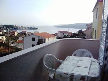 A1(4+1): terrace - 8124 A1(4+1) - Seget Vranjica - Seget Vranjica - rentals