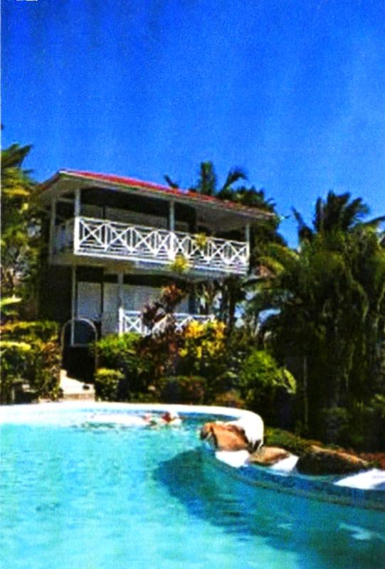 seahouse and pool - Seahouse  in beautiful Marigot Bay, St. Lucia - Vieux Fort - rentals