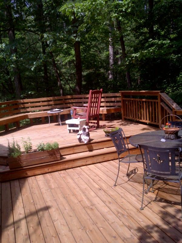 Side Deck perfect for entertaining - Woodstock Home - fully equipped with all comforts - Woodstock - rentals