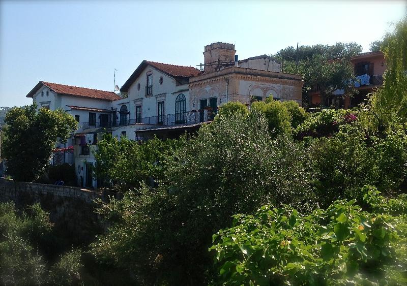 The villa view from outside - Elegant, charming villa near Sorrento coast - Massa Lubrense - rentals