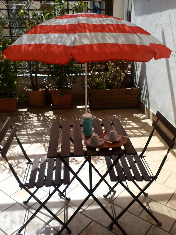Terrace - LOVELY GAZEBO APARTMENT IN MILAN - Milan - rentals