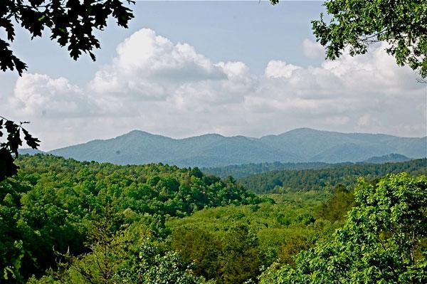 Outside View - Heavens View - Blue Ridge - rentals