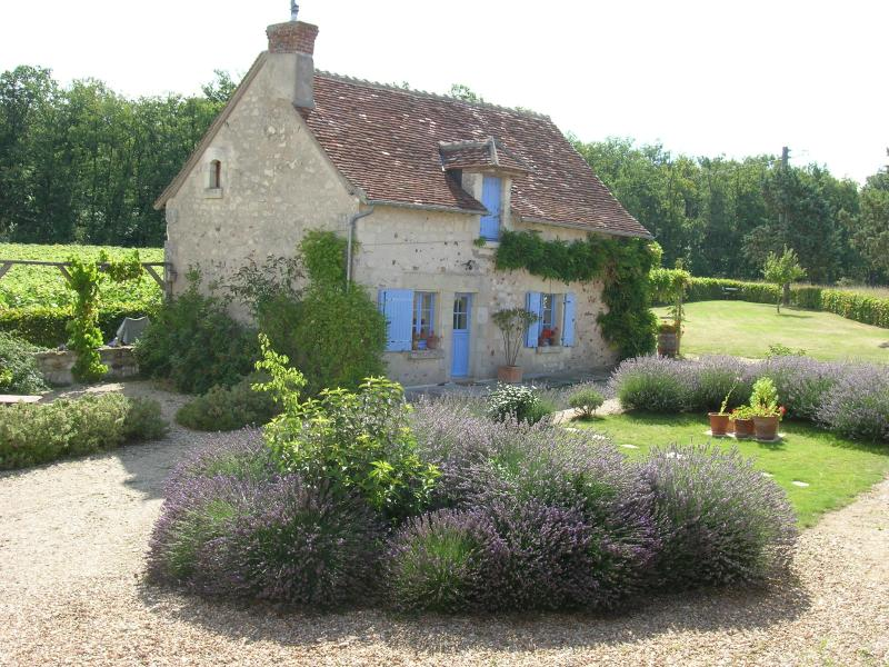 The Cottage and courtyard - The Cottage - a lovely, tranquil Loire Valley Gite - Le Grand-Pressigny - rentals