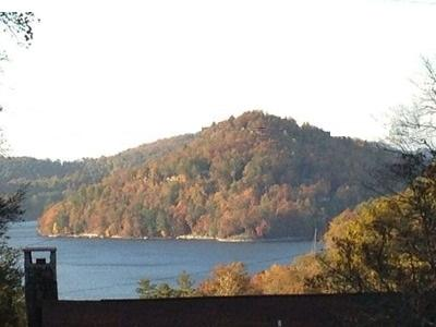 The Lake View from Porch - Lake Glenville View Villa - Glenville - rentals
