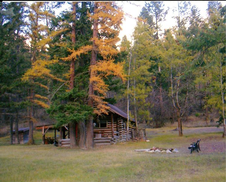 The Teacher's Cabin Front - The Teacher's Cabin At Patrick Creek - Kalispell - rentals