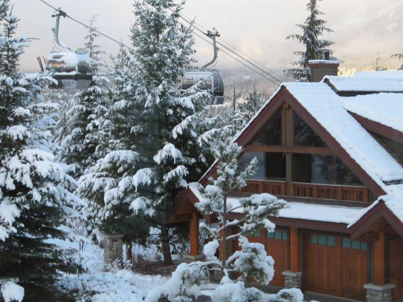 True ski-in ski-out townhome with private hot tub - Image 1 - Whistler - rentals