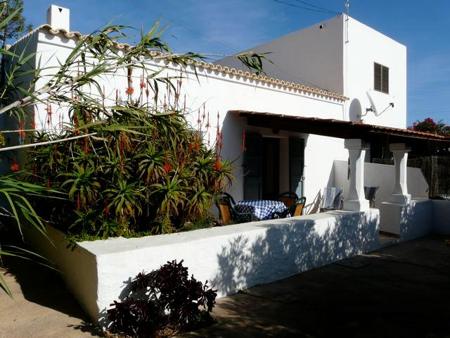 outside front 1 - CAN XICU MIQUEL COUNTRYHOUSE - Formentera - rentals