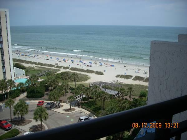 beautiful balcony view - Charming Condo 1 Bedroom King Suite with Angle Oce - Myrtle Beach - rentals