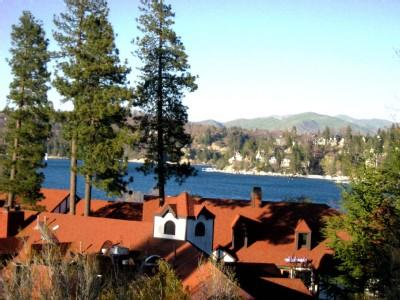 Spectacular View of Lake n Fireworks over lake, Walk to Village, Lake, Trails, - WiFi - Spectacular Lake n Village View - Beach Pass -WiFi - Lake Arrowhead - rentals